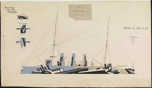 HMS Order No 77 - HMS Vindictive [Port]