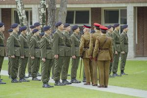 WITHDRAWL OF BRITISH TROOPS FROM BERLIN 1992-1994