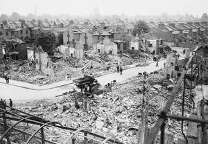 AIR RAID DAMAGE IN BRITAIN DURING THE SECOND WORLD WAR