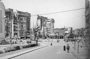 SCENES IN BERLIN, 1945-1946