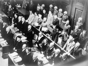 THE NUREMBERG TRIALS, GERMANY, 1945 - 1946