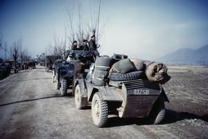 THE SERVICE OF SIDNEY SHERRIFF WITH THE ROYAL ARMOURED CORPS IN KOREA, 1949 - 1951