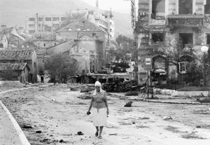 THE BOSNIAN CIVIL WAR 1992 - 1995