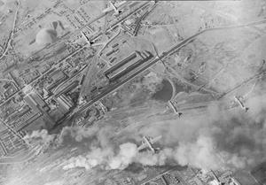 THE BOMBING RAIDS OVER FRANCE, MAY 1944