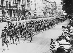 THE US ARMY IN BRITAIN, 1917-1918