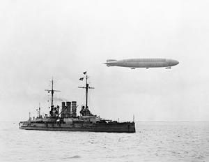 GERMAN NAVAL AIRSHIPS DURING THE FIRST WORLD WAR