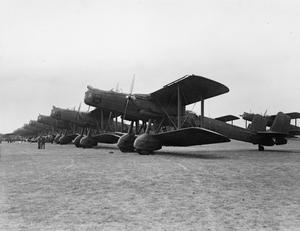 AIRCRAFT OF THE ROYAL AIR FORCE 1918-1939