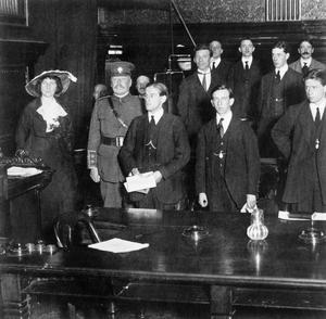 THE LEEDS PALS BATTALION, 1914
