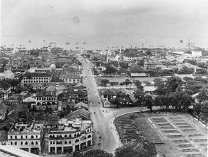 BRITISH REOCCUPATION OF SINGAPORE, 1945