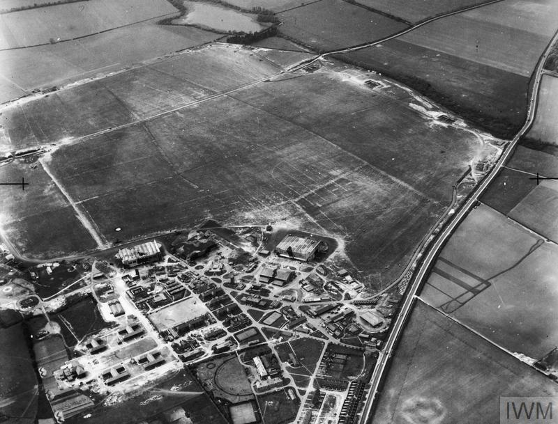 Aerial Views In The United Kingdom 1941 1942 Hu 91901