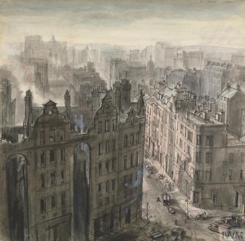 Ernest Boye Uden, Southampton Row, London, April 1941, 1941.
