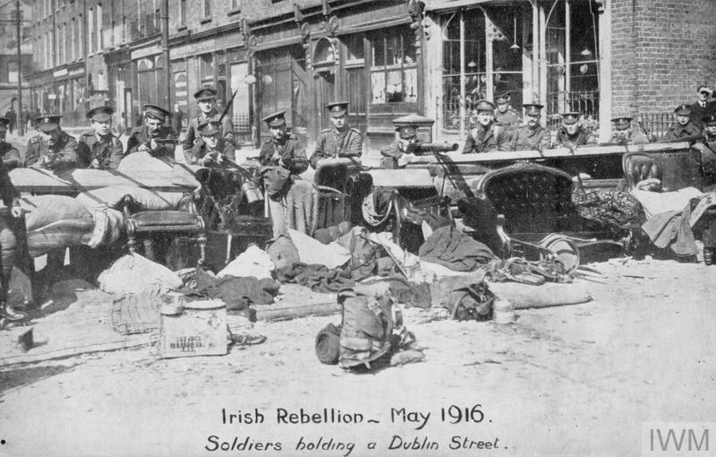 THE EASTER RISING IN DUBLIN, IRELAND, APRIL 1916
