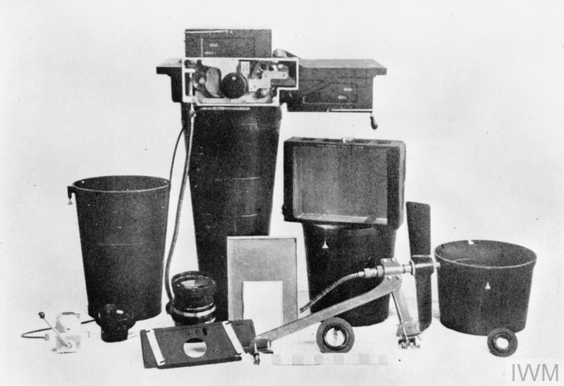 BRITISH AERIAL CAMERAS OF THE FIRST WORLD WAR.