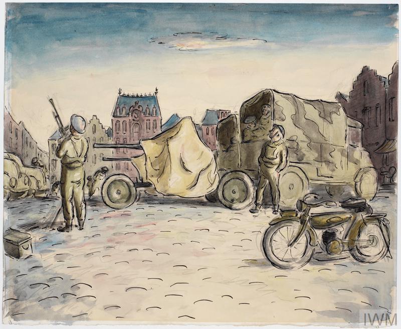Bofors at Tournai, May 1940
