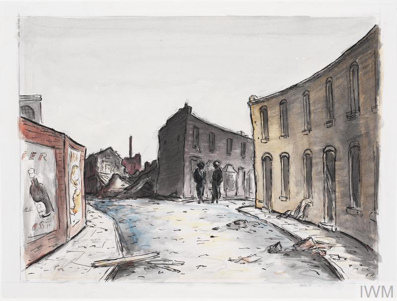 A Street in Silvertown, September 1940