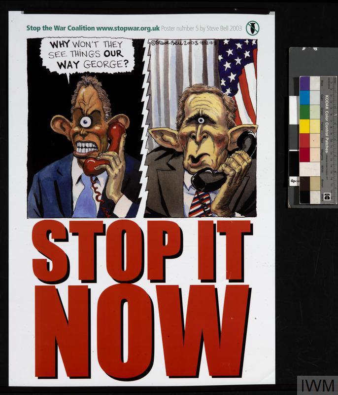 Stop the War Coalition Poster Number 5 [Stop It Now]