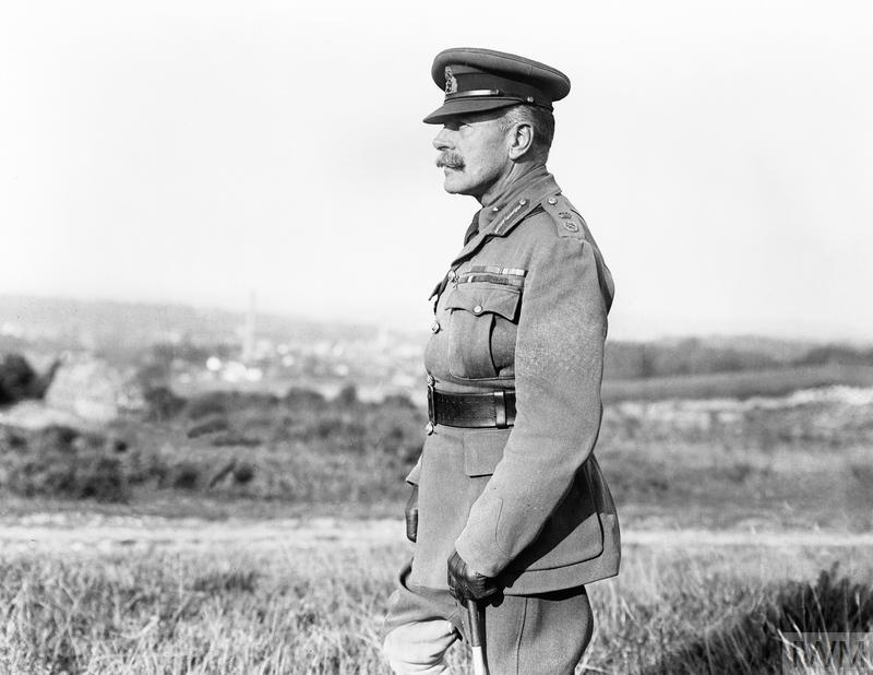 Field Marshal, Sir Douglas Haig, commander of the British Expeditionary Force, 1918.