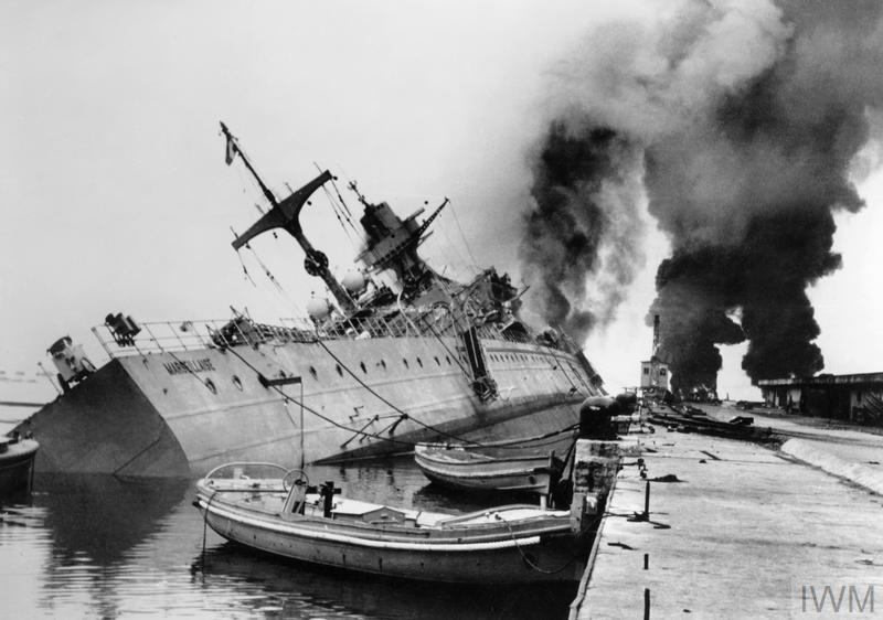 The French Navy At Toulon  1942
