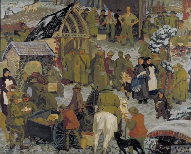 10 Snowy Scenes by First World War Artists