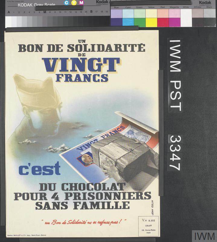 Un Bon de Solidarité de Vingt Francs [A Twenty-Franc Solidarity Bond]