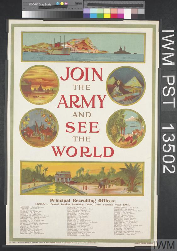 Join the Army and See the World | Imperial War Museums