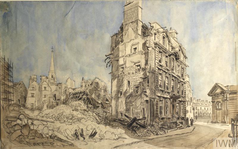 No 3, St James Street South, Bath, 1942