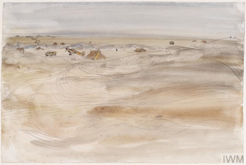The Battle of Egypt, 1942: Desert Scene