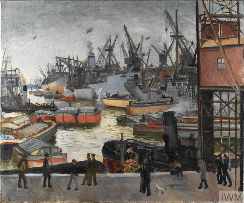 Activity at a Hull Dock