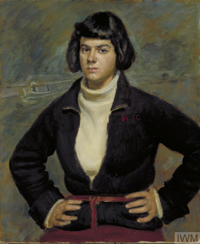 Christian Vlasto, a Canal-boat Woman