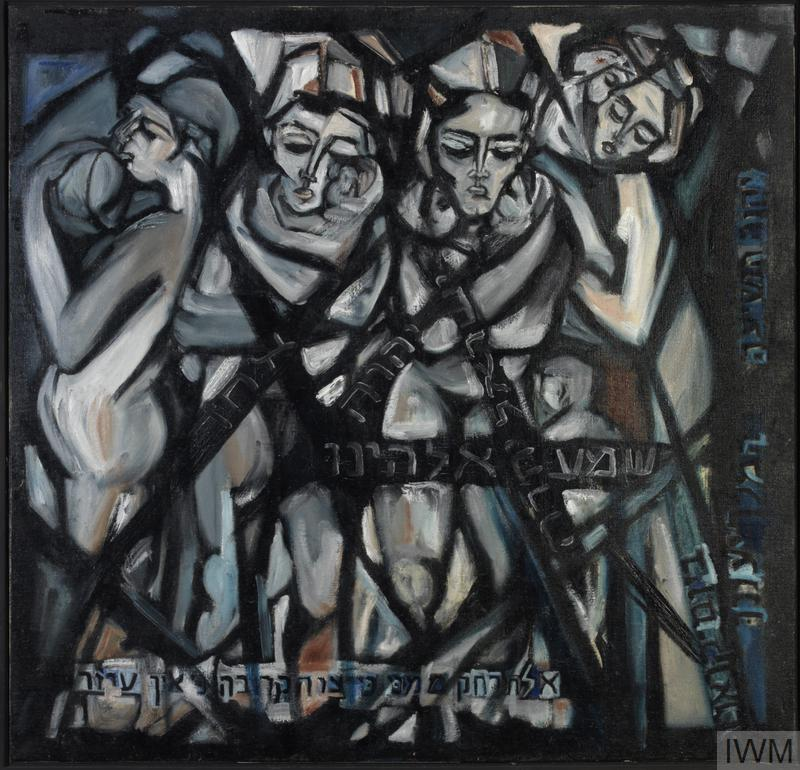 Mother with Babies, 1974, Roman Halter