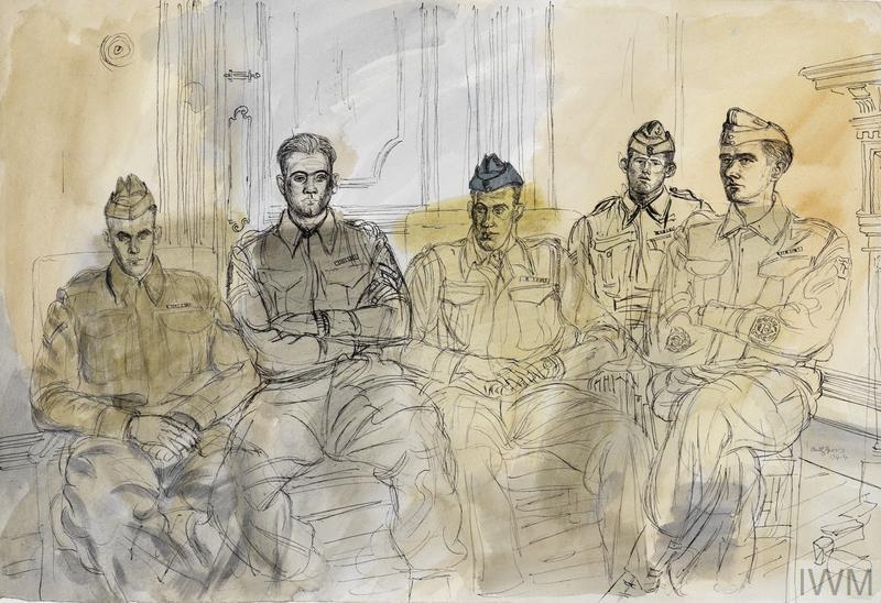 The 50th (Northumbrian) Division, 1944: 8th Battalion, Durham Light Infantry, 151 Brigade : Lance Corporal R G Goodwin, MM ; Corporal D Michael, MM ; Major C L Beattie, MC ; Corporal W Higginson, MM ; Sergeant-Major J R Hannah, MM