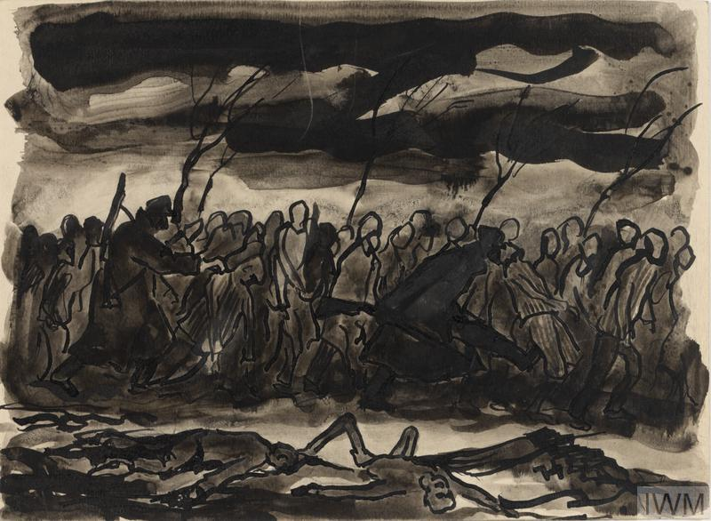 Death March (Czechowice-Bielsko, January 1945), 1945, Jan Hartman