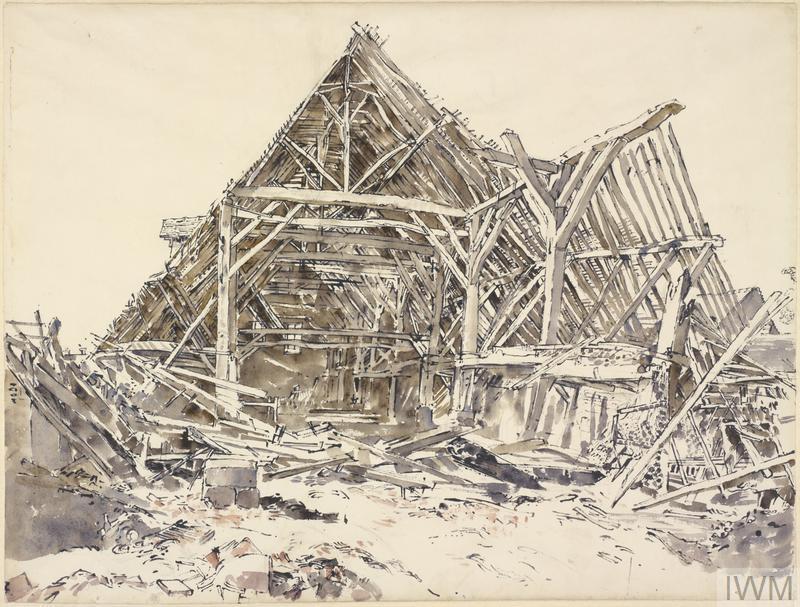 The Tithe Barn at St Pierre-sur-Dives