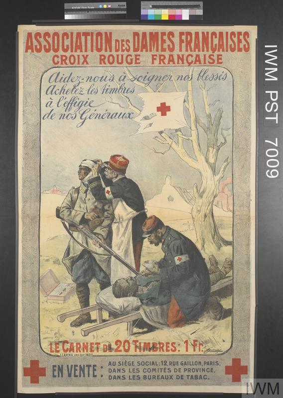 Association des Dames Françaises - Croix Rouge Française [French Ladies Association - French Red Cross]