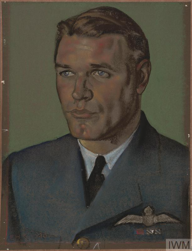 A head and shoulder portrait of Malan in uniform.