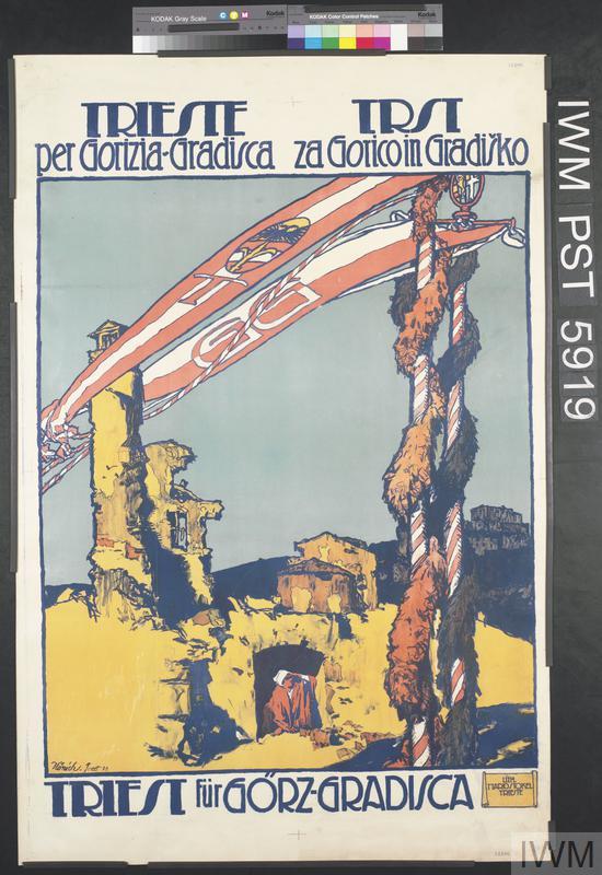 Trieste per Gorizia-Gradisca [Trieste for Gorizia-Gradisca]