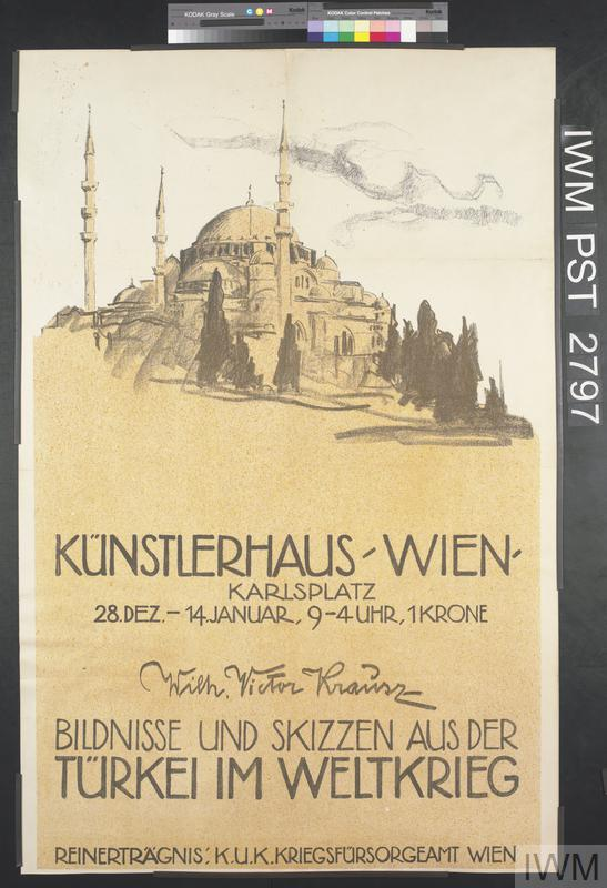 Bildnisse und Skizzen aus der Türkei im Weltkrieg [Portraits and Sketches from Turkey in the World War]