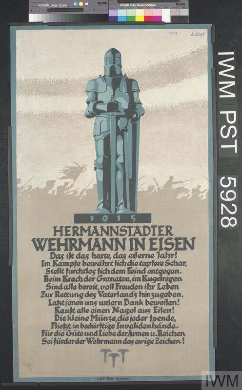 Hermannstädter Wehrmann in Eisen [Hermannstadt Iron Soldier]