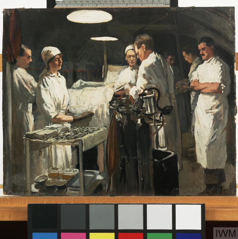 The Operating Theatre, 41st Casualty Clearing Station, 1918