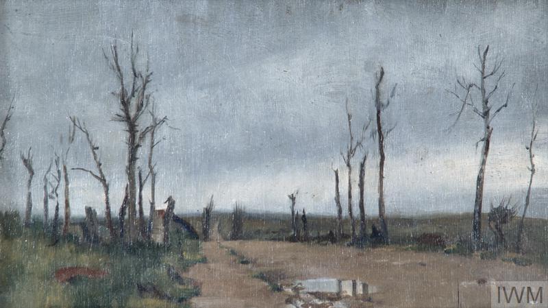 Near Hell-Fire Corner, Menin Road, Ypres