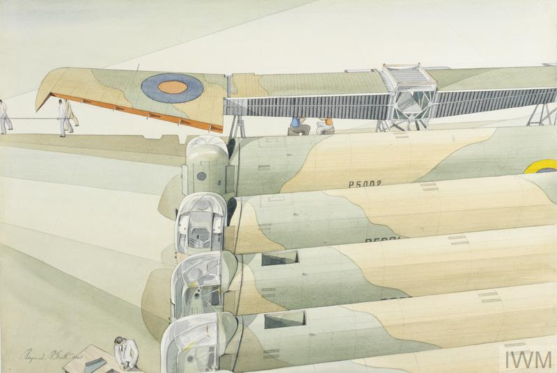 Rear Turrets of a Whitley Aircraft