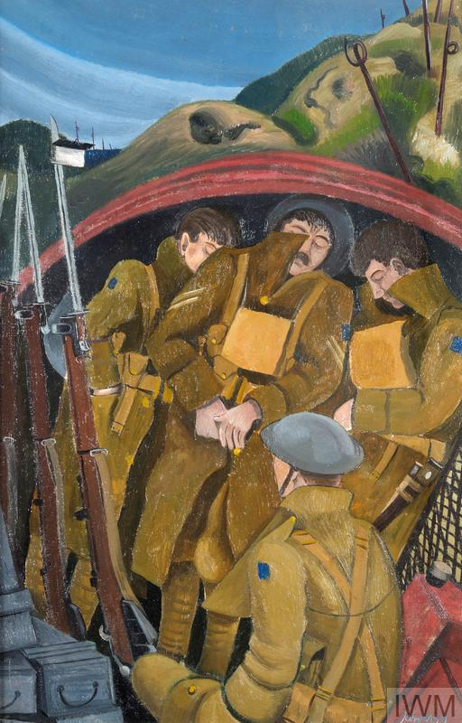 The Powerful Western Front Paintings Of The Nash Brothers