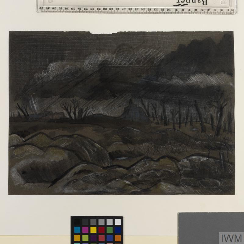 Gheluvelt Village: German Front Line
