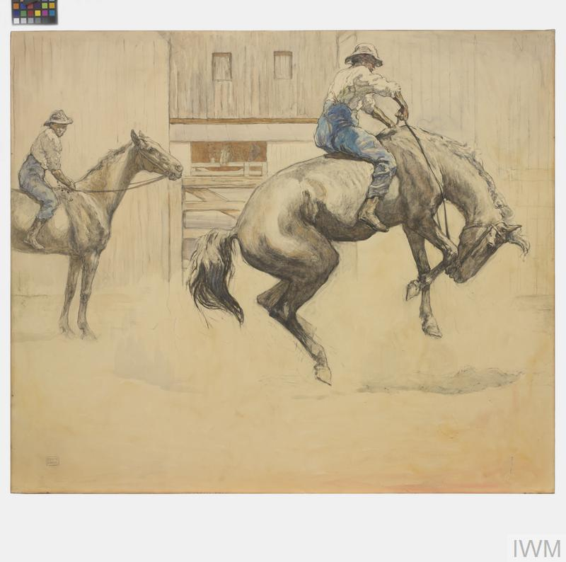' A Conscientious Objector': All horses were galloped in the course of the strict veterinary examination to which each was subjected prior to purchase, and many 'outlaws' were thus detected and rejected on account of being insufficiently trained for active service