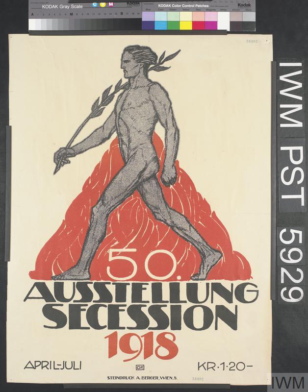 50 Ausstellung Secession 1918 [50th Secession Exhibition 1918]