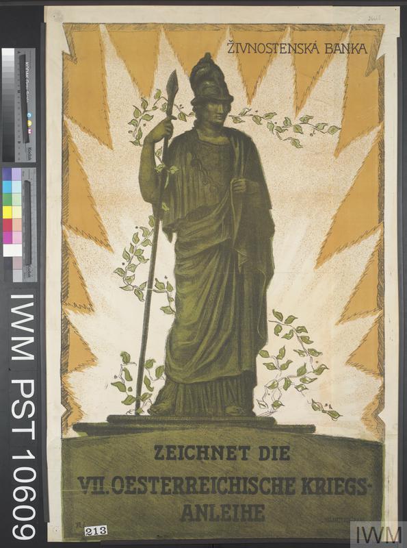 Zeichnet die Siebente Oesterreichische Kriegsanleihe [Subscribe to the Seventh Austrian War Loan]