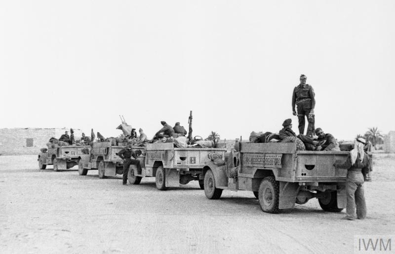 The Long Range Desert Group Lrdg During The Second World War