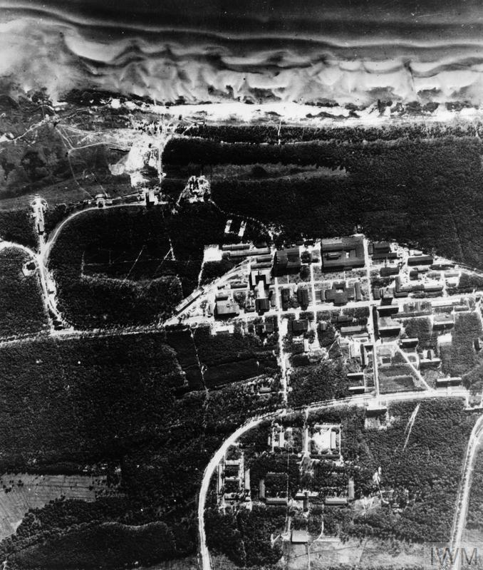 THE ROYAL AIR FORCE 1943 - 1944: AERIAL VIEWS OF V2 ROCKET SITES AT PEENEMUNDE
