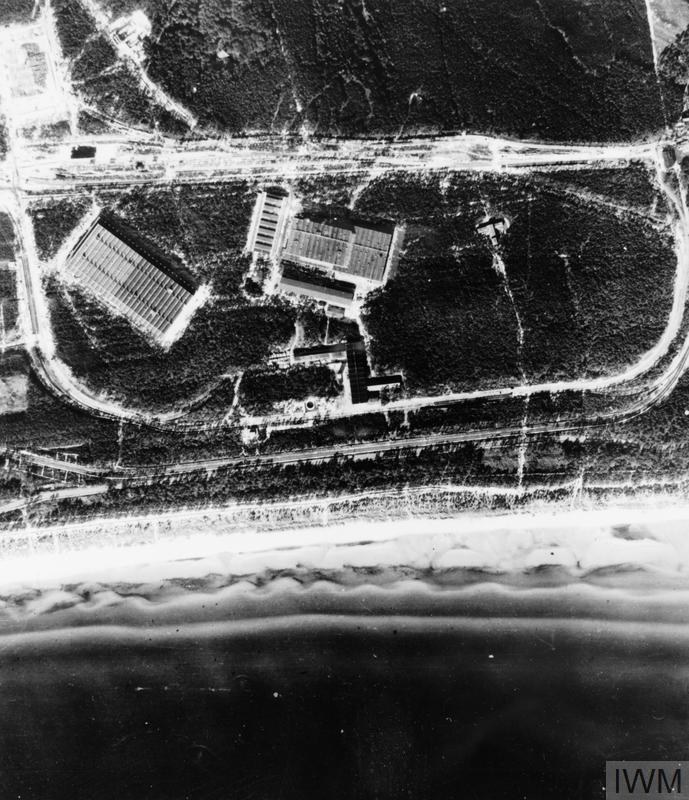 THE ROYAL AIR FORCE 1943 - 1944: AERIAL VIEWS OF V2 ROCKET SITES AT PEENEMUNDE