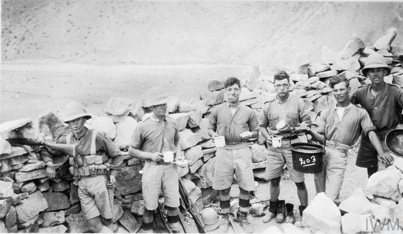 Service Of Sergeant Harry Ewin With The Royal Artillery In